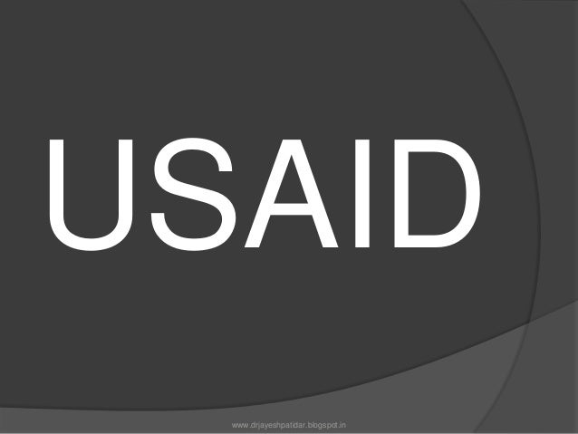 USAIDUSAIDThe US government extends aid to Indiathrough three agencies:1)United agency for Internationaldevelopment2)the p...