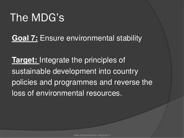 The MDG'sGoal 8: Develop a global partnership fordevelopmentTarget: Develop further an open, rule-based, predictable,non-d...