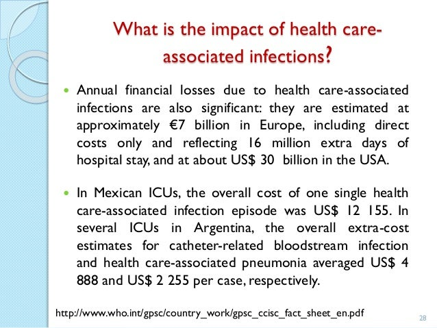 healthcare associated infections essay Free capstone project sample on topic hospital-acquired infections  chlorhexidine gluconate  we'll write an essay from scratch according to your  instructions.