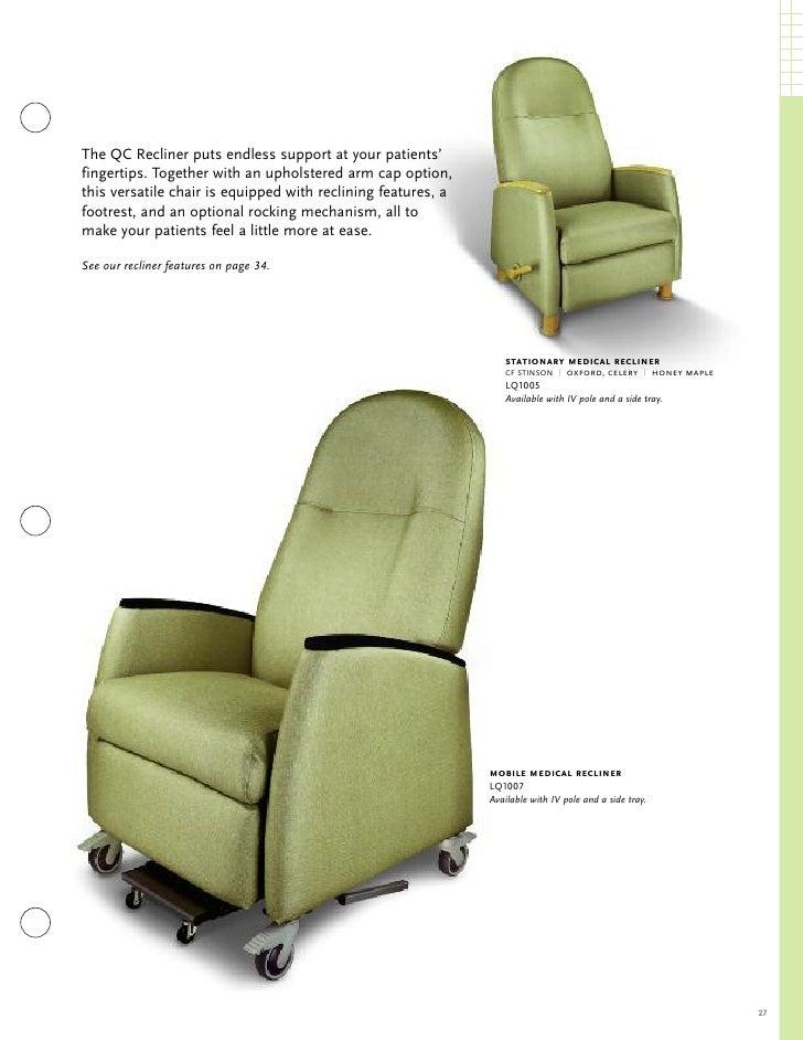 27 29 mobile medical recliner