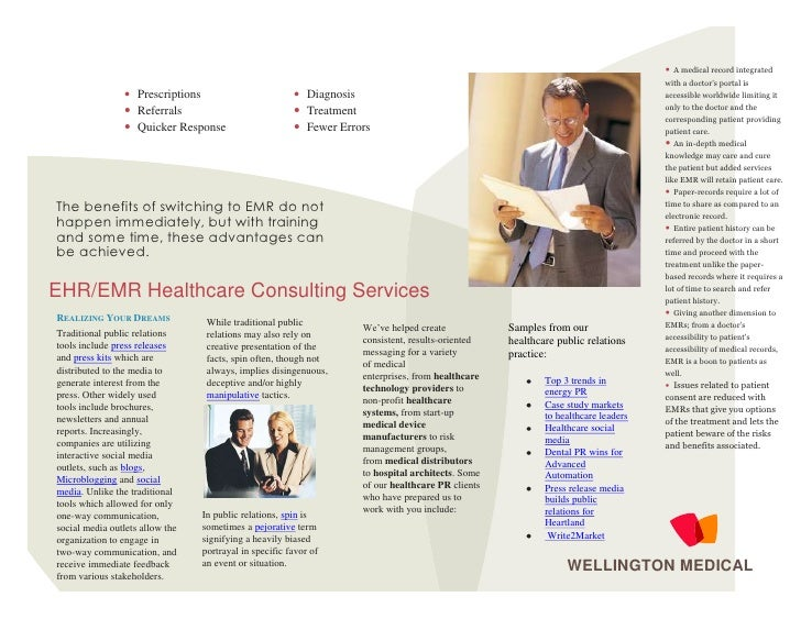 Healthcare Brochure Sample