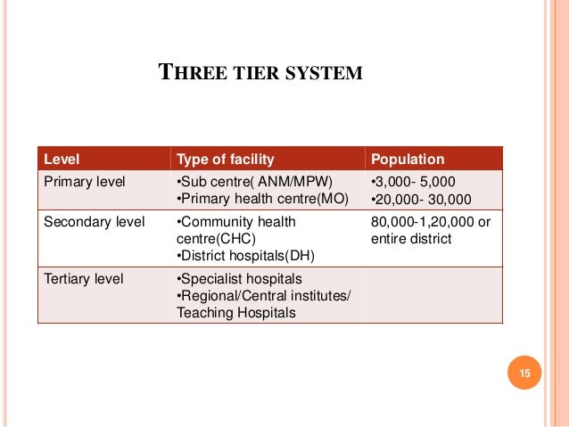 Health Care System In India At Municipal Level