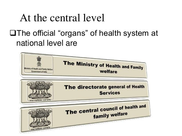 Healthcare delivery system in india