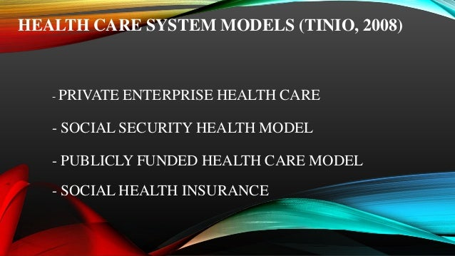 Health care delivery system in the philippines