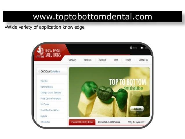 3D Systems Healthcare dental presentation jun 2012