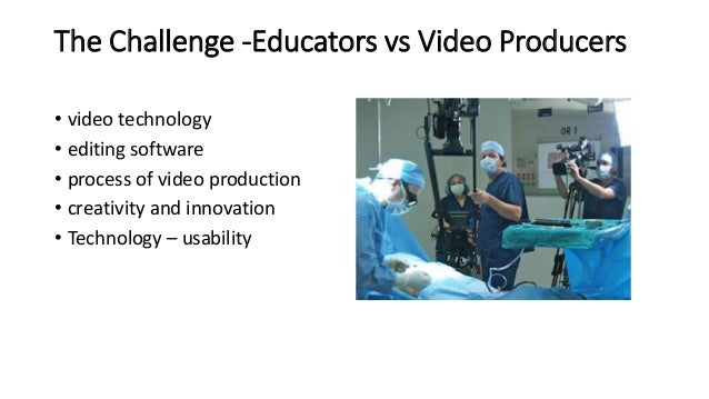 Health care education video production