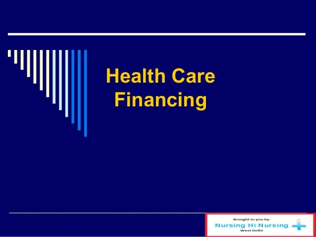 health care financing After over 30 years as a respected quarterly print publication, the journal of health care finance has become an online publication in order to publish more excellent.