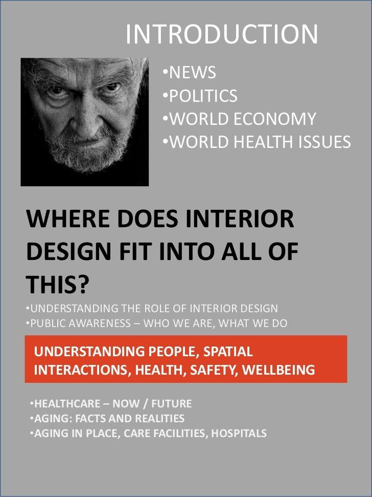 Healthcare hot topics in interior design 2012