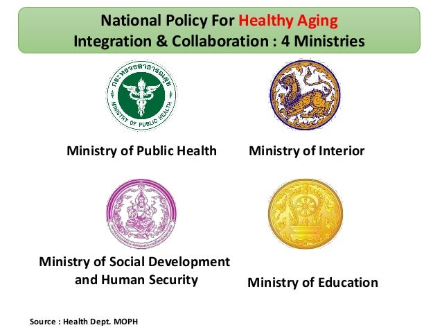 Health And Care In An Aging Society Jiraporn