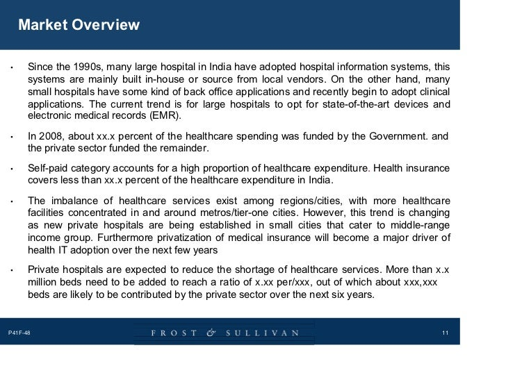 Healthcare Information Technology Market In India Sample 1