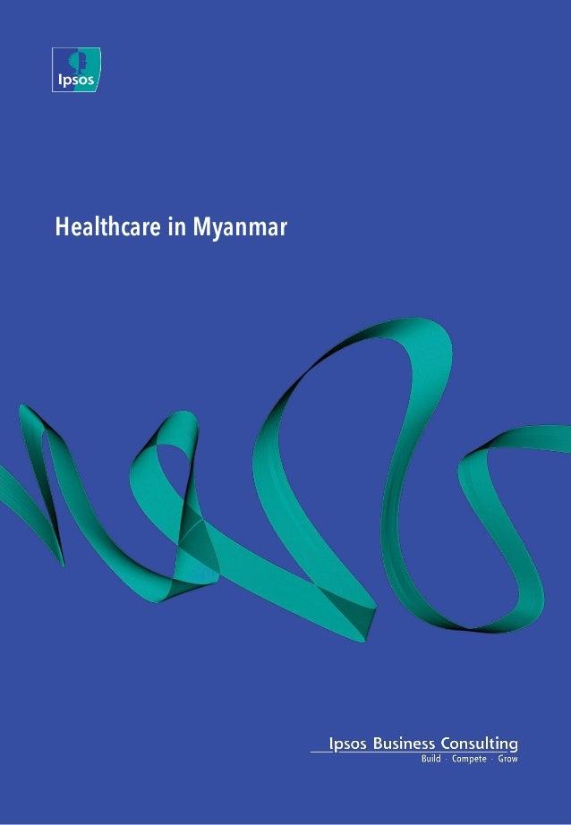 Healthcare in Myanmar