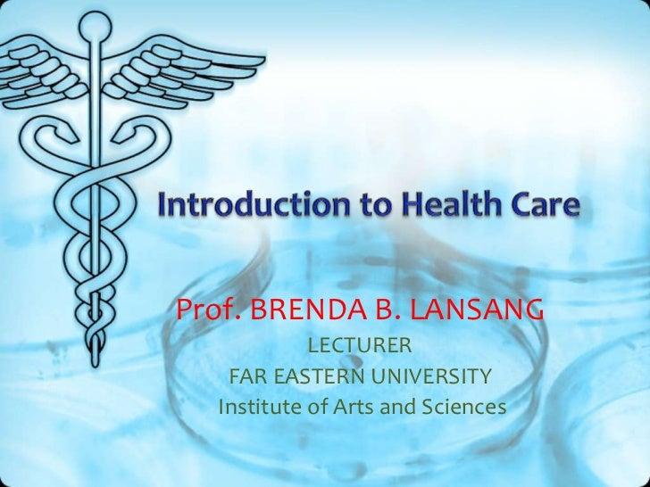 Prof. BRENDA B. LANSANG            LECTURER   FAR EASTERN UNIVERSITY  Institute of Arts and Sciences