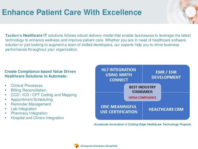Enhance Patient Care With Excellence Enterprise Solutions Simplified Accelerate Innovation in Cutting-Edge Healthcare Tech...