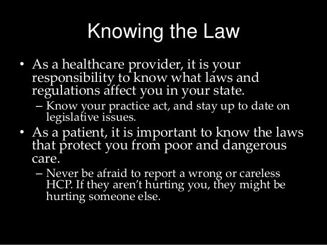 HealthCare Rules, Regulations and Laws Trainings