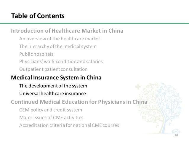 IntroductionofHealthcareMarketinChina Anoverviewofthehealthcaremarket Thehierarchyofthemedicalsystem Publ...