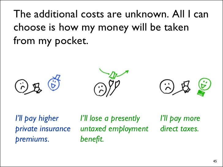 Although today's debate is really insurance reform, there are issues on the other side:     Although they're not core to t...