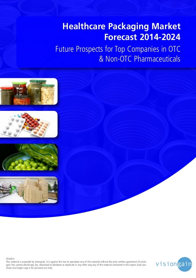 Healthcare Packaging Market Forecast 2014-2024 Future Prospects for Top Companies in OTC & Non-OTC Pharmaceuticals  ©notic...