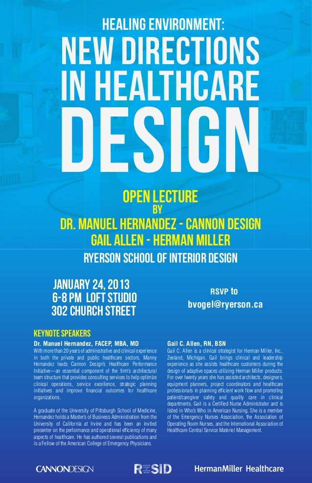 Healing Environment:              New Directions             in Healthcare            Design                             O...
