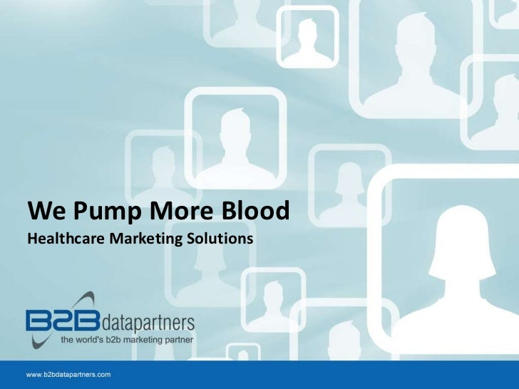 We Pump More BloodHealthcare Marketing Solutions
