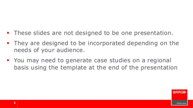  These slides are not designed to be one presentation.  They are designed to be incorporated depending on the needs of y...