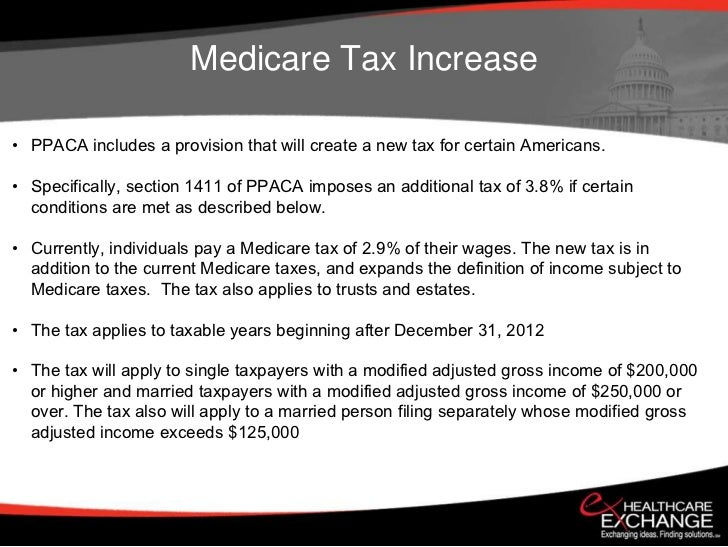 Healthcare Reform PPACA Overview