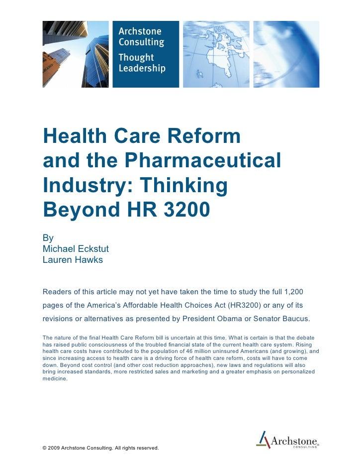 Health Care Reform Revised V2