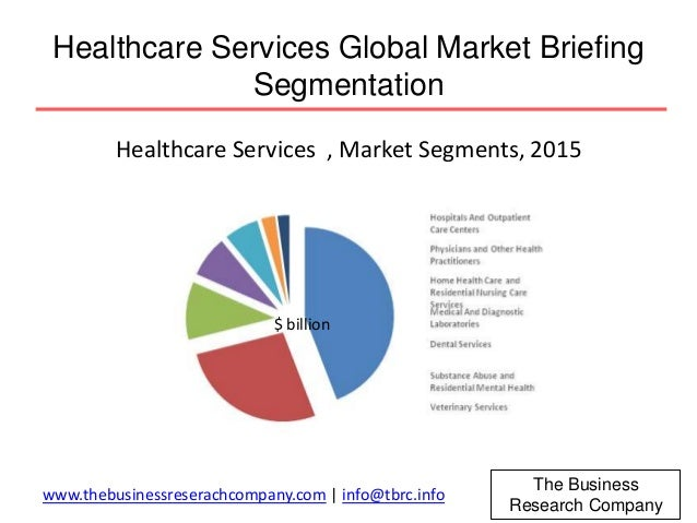 marketing segmentation of healthcare Market segmentation: local health economies maintain your competitive edge with unique insights that support the development of local tactics and value propositions tailored to meet the specific needs of key market segments.
