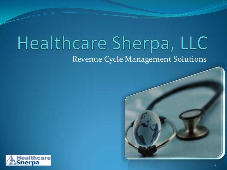 Revenue Cycle Management Solutions                                     1