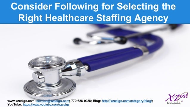 how to start a healthcare staffing agency