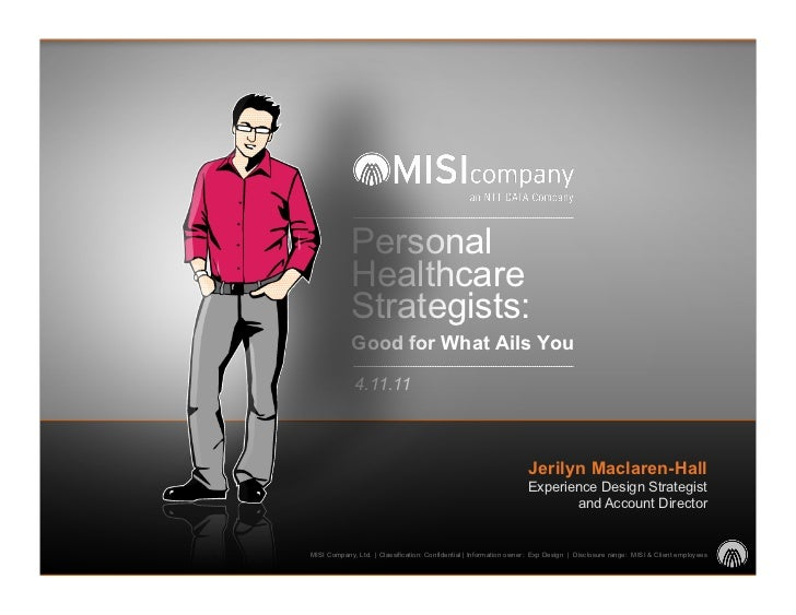 Personal            Healthcare            Strategists:            Good for What Ails You             4.11.11              ...