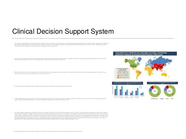 the north american non knowledge based cdss Clinical decision support systems market 2023 players analysis: epic systems, mckesson, meditech, philips healthcare, wolters kluwer health, hearst health,.