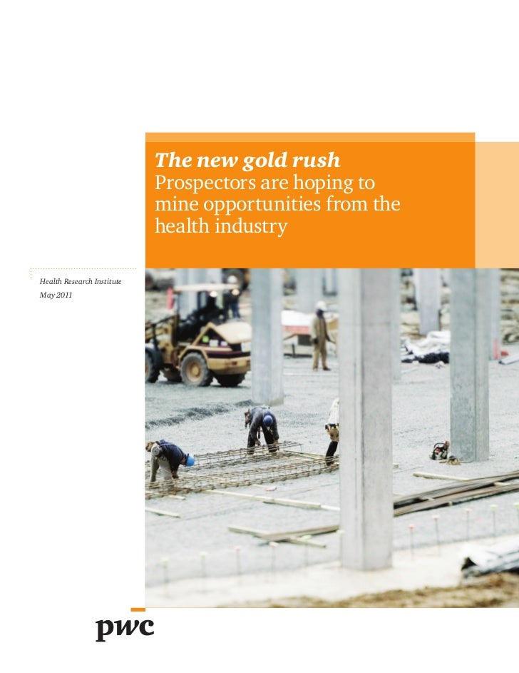 The new gold rush                            Prospectors are hoping to                            mine opportunities from ...