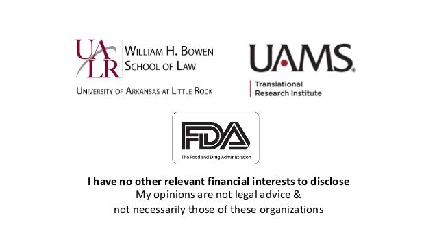 I have no other relevant financial interests to disclose My opinions are not legal advice & not necessarily those of these...