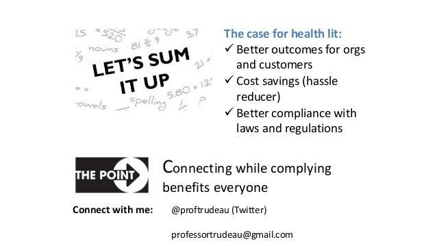Healthcare webinar presentation slides