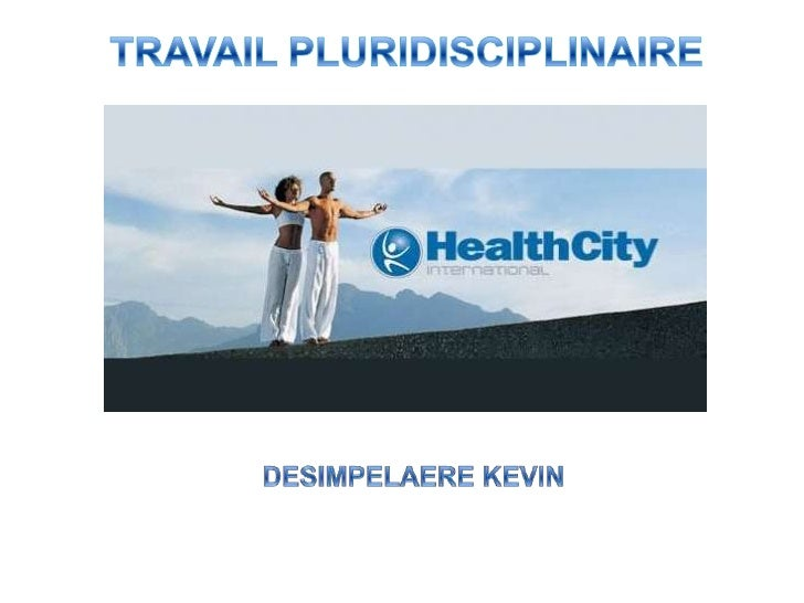 TRAVAIL PLURIDISCIPLINAIRE<br /> DESIMPELAERE KEVIN<br />