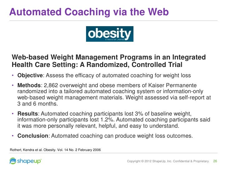 weight loss programs at kaiser permanente