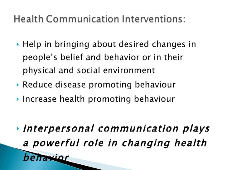 <ul><li>Help in bringing about desired changes in people's belief and behavior or in their physical and social environment...