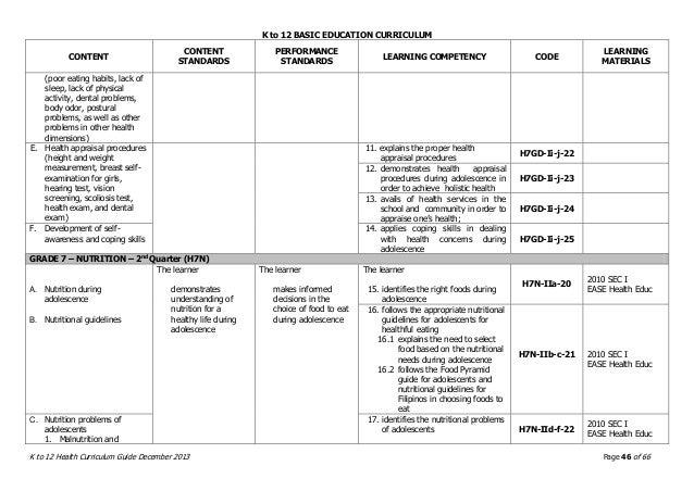 The Ontario Curriculum: Elementary