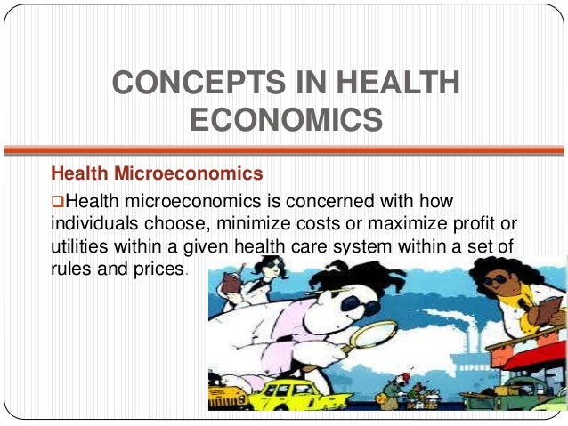 Economics terms and healthcare history