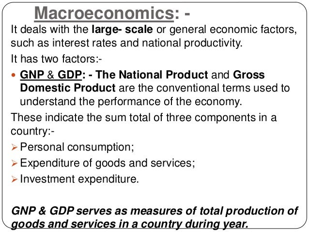 an analysis of the factors that contribute to the gross domestic product of a country The gross domestic product (gdp) measures of national income and output for a given country's economy the gross domestic product south africa gdp - plus previous releases, historical high and low, short-term forecast and long-term prediction, economic calendar, survey consensus and news.