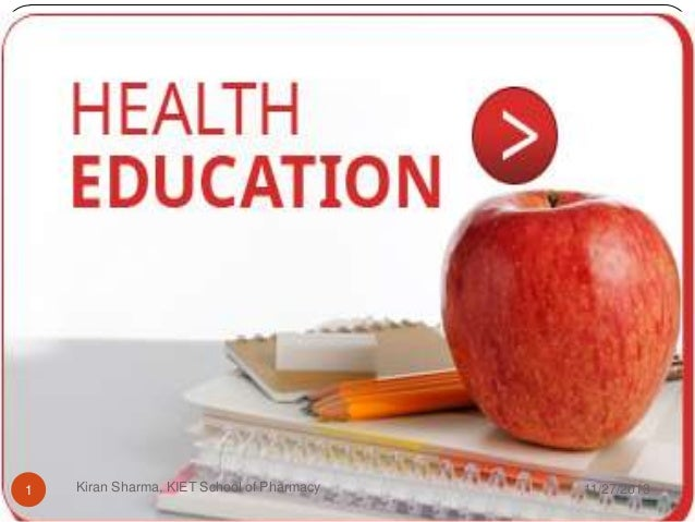 health education Journal of health education research and development discusses the latest research innovations and important developments in this field.