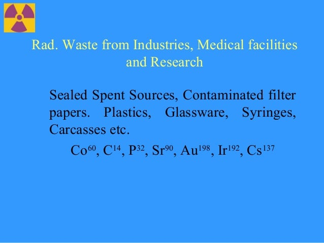 Nuclear waste pollution essays