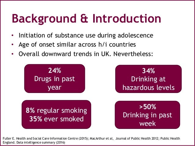 Peer-led interventions to prevent tobacco, alcohol and\/or drug use ...