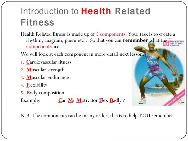Health Exercise Fitness & Performance