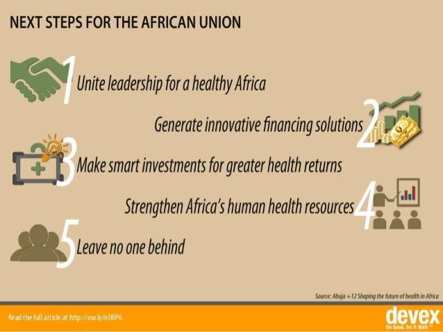 health funding in africa