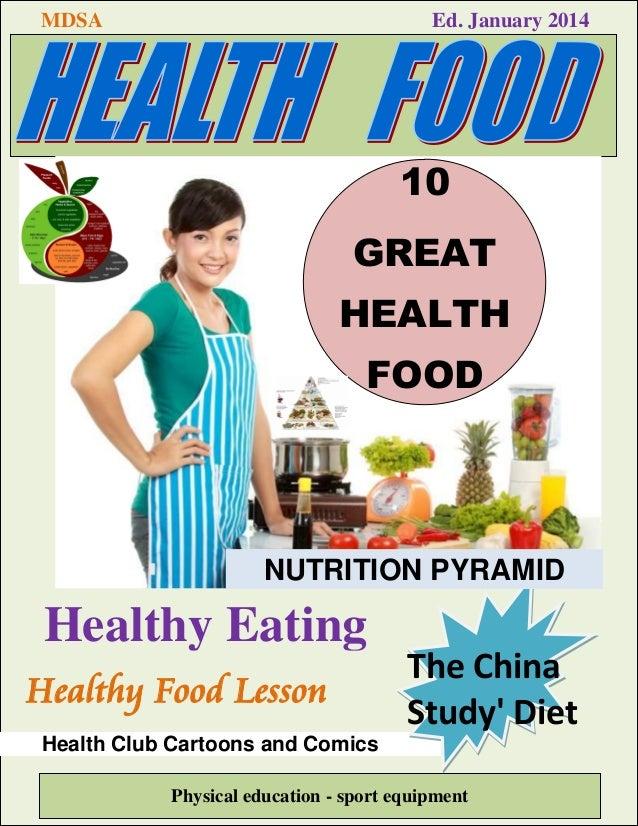 Realizando Revista Ejemplo Health Food