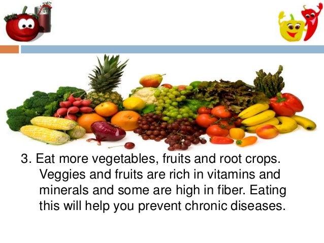 Healthful Eating Guidelines