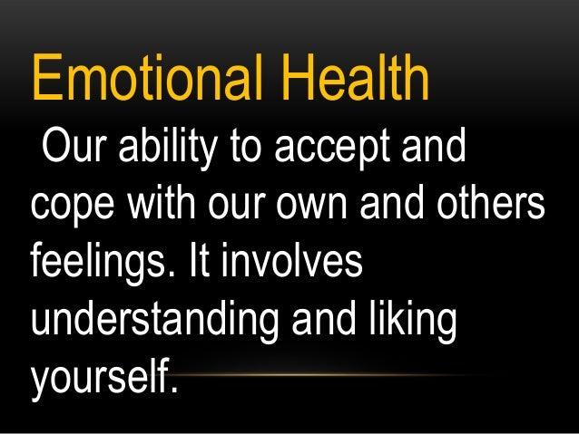 mental and emotional health activities