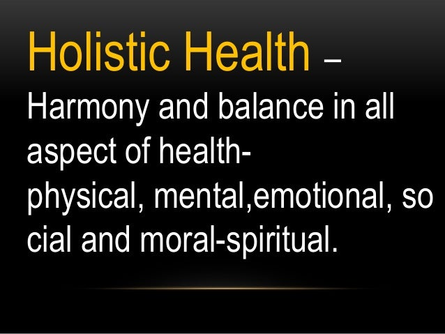 Health grade 7 first quarter Holistic Health and Its Five
