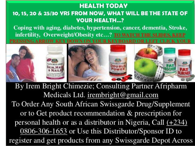 1 HEALTH TODAY 10, 15, 20 U0026 25/30 YRS FROM NOW, ...